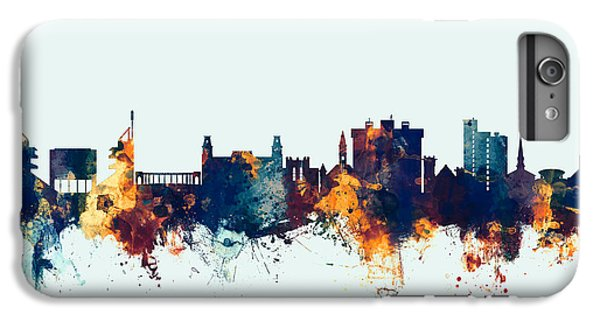 Fayetteville Arkansas Skyline IPhone 7 Plus Case by Michael Tompsett