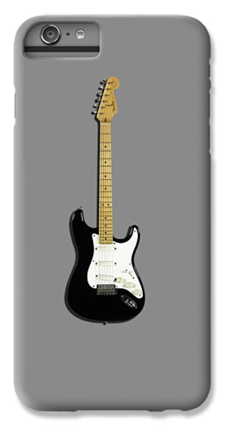 Fender Stratocaster Blackie 77 IPhone 7 Plus Case by Mark Rogan