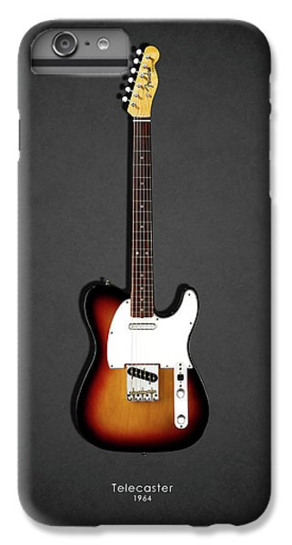 Guitar iPhone 7 Plus Case - Fender Telecaster 64 by Mark Rogan
