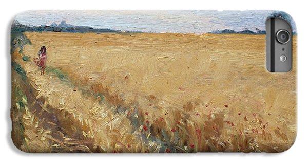 Georgetown iPhone 7 Plus Case - Field Of Grain In Georgetown On by Ylli Haruni
