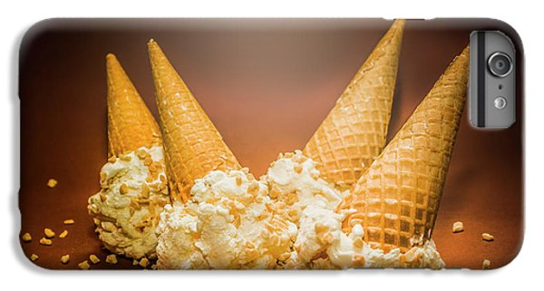 Fine Art Ice Cream Cone Spill IPhone 7 Plus Case by Jorgo Photography - Wall Art Gallery