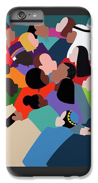 iPhone 7 Plus Case - First Family The Obamas by Synthia SAINT JAMES