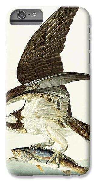 Osprey iPhone 7 Plus Case - Fish Hawk by John James Audubon