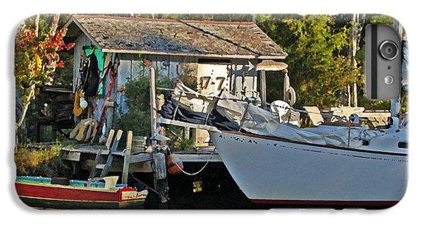 Shrimp Boats iPhone 7 Plus Case - Fishhut And Invictus by Michael Thomas