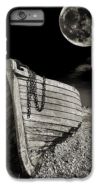 Moon iPhone 7 Plus Case - Fishing Boat Graveyard 3 by Meirion Matthias