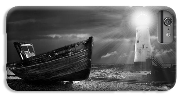 Boats iPhone 7 Plus Case - Fishing Boat Graveyard 7 by Meirion Matthias