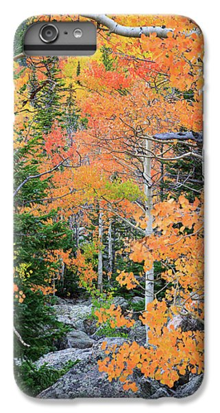 Flaming Forest IPhone 7 Plus Case by David Chandler
