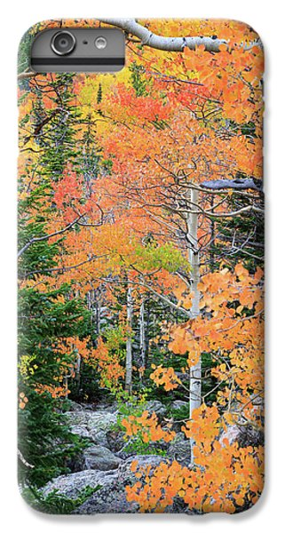IPhone 7 Plus Case featuring the photograph Flaming Forest by David Chandler
