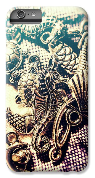 Seahorse iPhone 7 Plus Case - Flares Of Nautical Beauty by Jorgo Photography - Wall Art Gallery