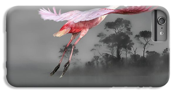 Spoonbill iPhone 7 Plus Case - Flash Of Pink by Donna Kennedy