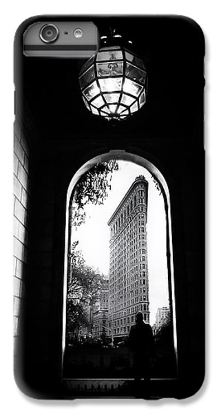 IPhone 7 Plus Case featuring the photograph Flatiron Point Of View by Jessica Jenney