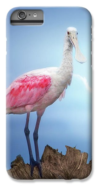 Foggy Morning Spoonbill IPhone 7 Plus Case