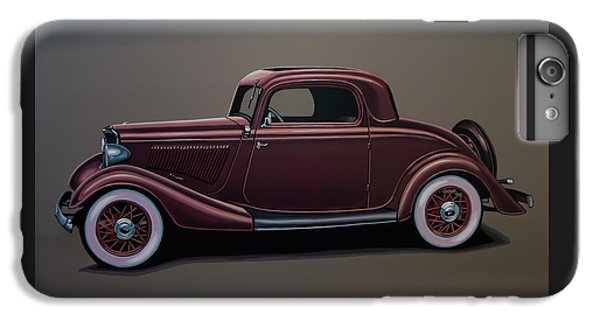 Falcon iPhone 7 Plus Case - Ford 3 Window Coupe 1933 Painting by Paul Meijering