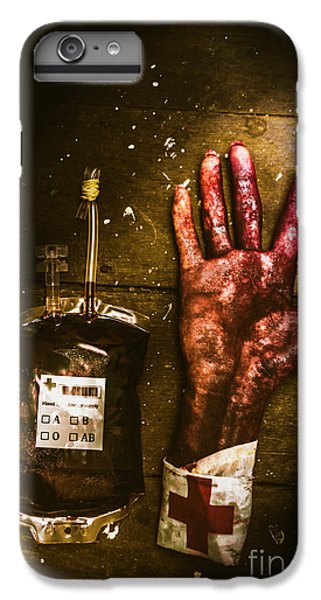Donation iPhone 7 Plus Case - Frankenstein Transplant Experiment by Jorgo Photography - Wall Art Gallery