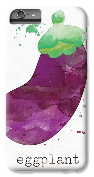Truck iPhone 7 Plus Case - Fresh Eggplant by Linda Woods