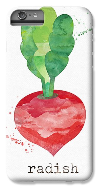 Rural Scenes iPhone 7 Plus Case - Fresh Radish by Linda Woods