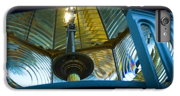IPhone 7 Plus Case featuring the photograph Fresnel Lens Heceta Head Lighthouse by Yulia Kazansky