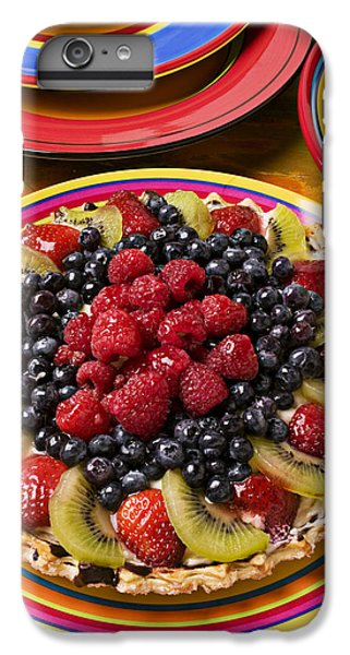 Fruit Tart Pie IPhone 7 Plus Case by Garry Gay