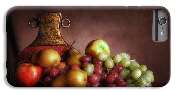 Pear iPhone 7 Plus Case - Fruit With Vase by Tom Mc Nemar