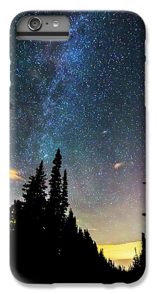 IPhone 7 Plus Case featuring the photograph  Galaxy Rising by James BO Insogna