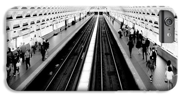 Train iPhone 7 Plus Case - Gallery Place Metro by Thomas Marchessault