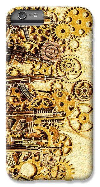 Warfare iPhone 7 Plus Case - Gearing For War by Jorgo Photography - Wall Art Gallery