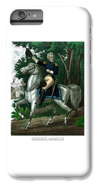 Warfare iPhone 7 Plus Case - General Andrew Jackson On Horseback by War Is Hell Store