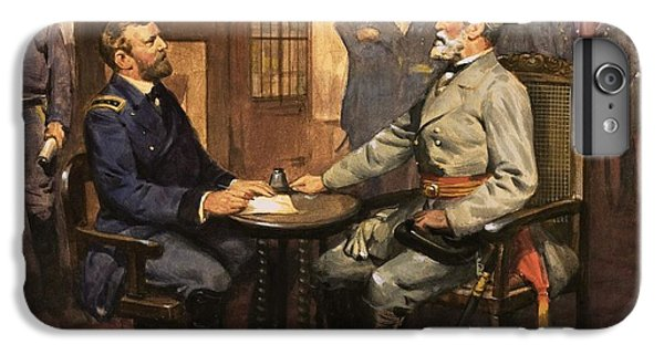 General Grant Meets Robert E Lee  IPhone 7 Plus Case