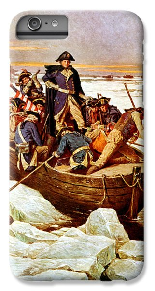 General Washington Crossing The Delaware River IPhone 7 Plus Case by War Is Hell Store