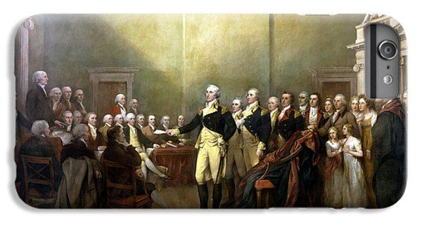 Politicians iPhone 7 Plus Case - General Washington Resigning His Commission by War Is Hell Store