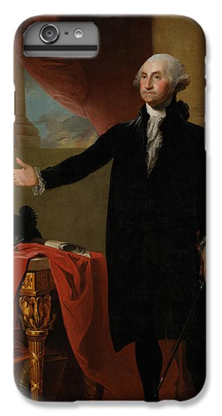 Portraits iPhone 7 Plus Case - George Washington Lansdowne Portrait by War Is Hell Store