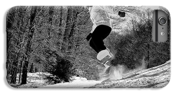 IPhone 7 Plus Case featuring the photograph Getting Air On The Snowboard by David Patterson