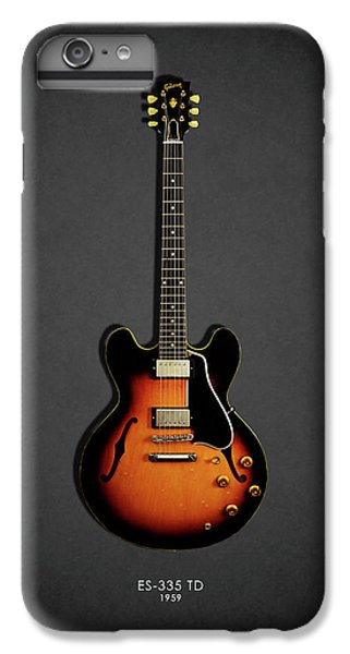 Rock And Roll iPhone 7 Plus Case - Gibson Es 335 1959 by Mark Rogan