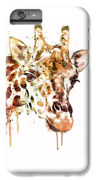 Giraffe Head IPhone 7 Plus Case by Marian Voicu