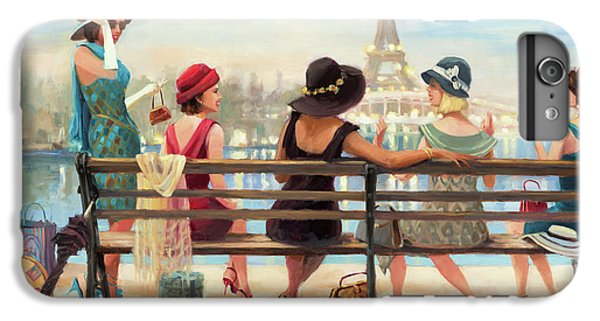 Eiffel Tower iPhone 7 Plus Case - Girls Day Out by Steve Henderson