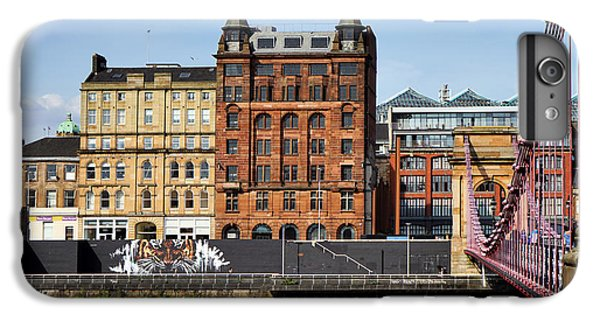 IPhone 7 Plus Case featuring the photograph Glasgow by Jeremy Lavender Photography