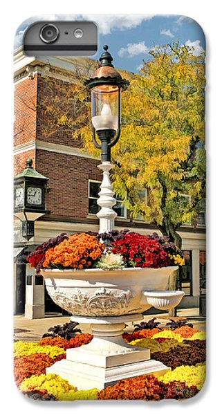IPhone 7 Plus Case featuring the painting Glen Ellyn Watering Trough by Christopher Arndt