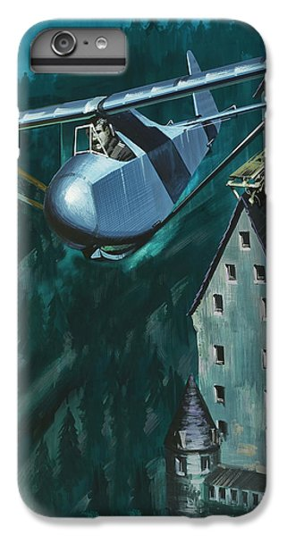 Glider Escape From Colditz Castle IPhone 7 Plus Case by Wilf Hardy