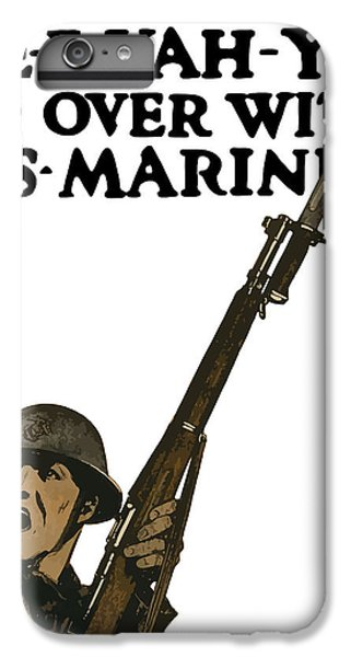 Marine iPhone 7 Plus Case - Go Over With Us Marines by War Is Hell Store