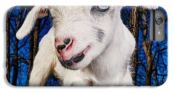Goat High Fashion Runway IPhone 7 Plus Case by TC Morgan