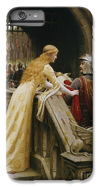 Knight iPhone 7 Plus Case - God Speed by Edmund Blair Leighton
