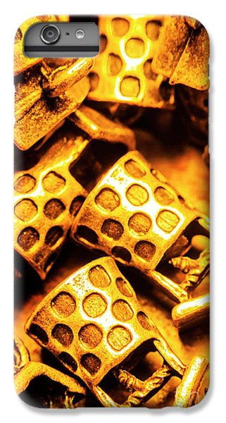 Donation iPhone 7 Plus Case - Gold Treasures by Jorgo Photography - Wall Art Gallery