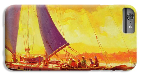 Boats iPhone 7 Plus Case - Golden Opportunity by Steve Henderson