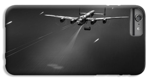 IPhone 7 Plus Case featuring the photograph Goner From Dambuster J-johnny Bw Version by Gary Eason