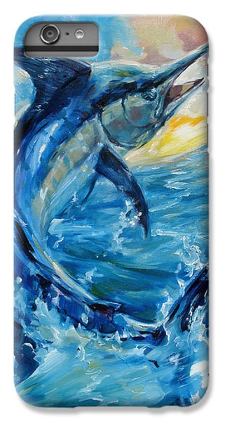 Swordfish iPhone 7 Plus Case - Good Morning by Tom Dauria