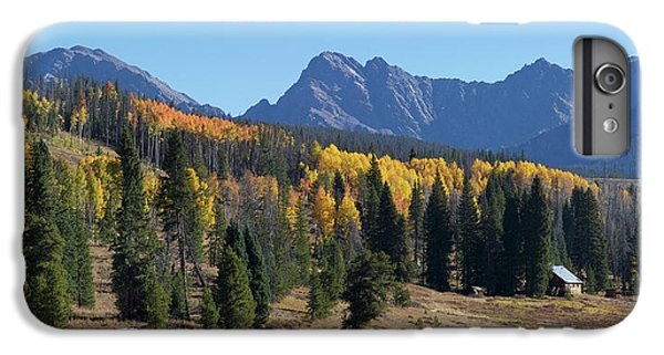 IPhone 7 Plus Case featuring the photograph Gore Autumn by Aaron Spong