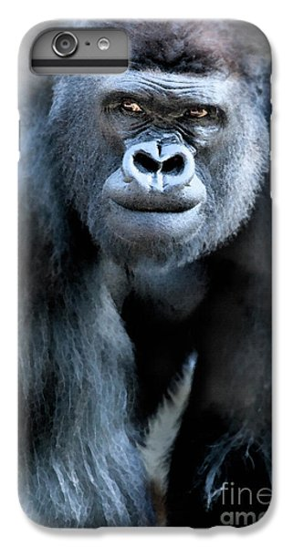 Gorilla In The Mist Large Canvas Art, Canvas Print, Large Art, Large Wall Decor, Home Decor IPhone 7 Plus Case by David Millenheft
