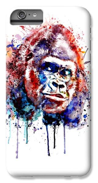 Gorilla iPhone 7 Plus Case - Gorilla by Marian Voicu