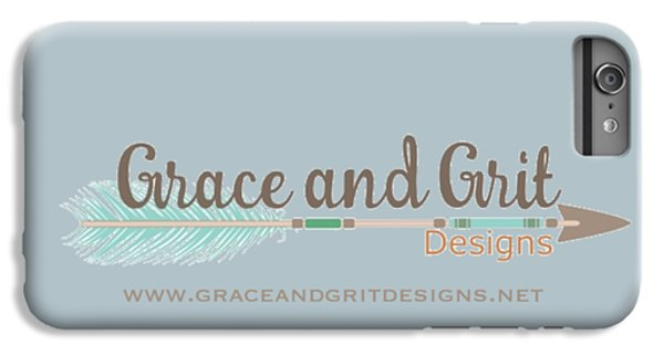 Grace And Grit Logo IPhone 7 Plus Case by Elizabeth Taylor
