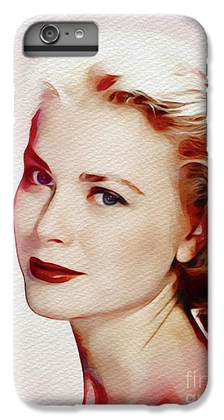 Grace Kelly iPhone 7 Plus Case - Grace Kelly, Hollywood Legend by John Springfield